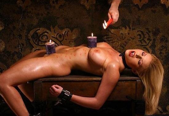 Секс игры с воском #15