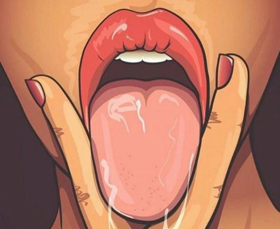 Удовольствие языком от куни
