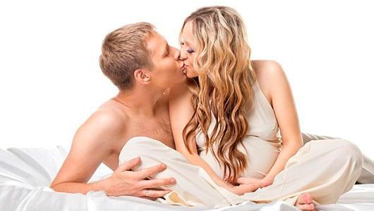 Секс во время беременности феромоны